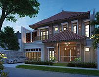 Desain Arsitektur etnik moderen nusantara