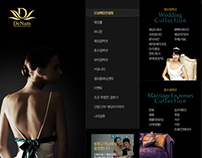 Denam Wedding Website Prototype