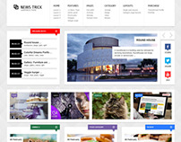 NewsTrick - Responsive WordPress Magazine / Blog