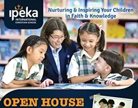 IPEKA International School Open House Advertisement