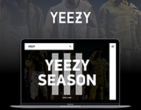 YEEZY by Kanye West lookbook page