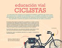 Infografía: Educación Vial