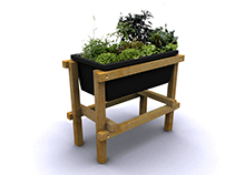 DIY Growing Table
