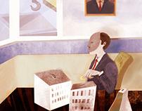 Illustrations for 'Liberali' magazine