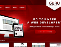 GURU Logo & Website Design