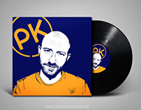 Digital painting Paul Kalkbrenner