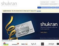 Landmark Loyalty Programme: Shukran Rewards - Design