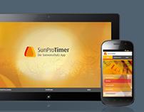 Sunprotimer: App Design, Development
