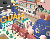 Rabbitpoop Tram Station