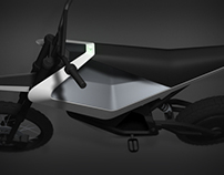 Electric dirt motorbike