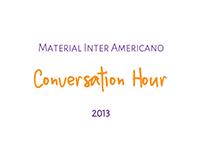 Divulgação Conversation Hour