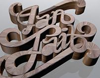 Ian Tait logo re-design
