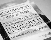 Die Marburger Geisteswissenschaften 1926 & 2009