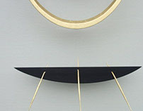 detail of coracle