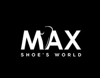 MAX SHOE'S WORLD BRAND LOGO DESIGN AND BRANDING