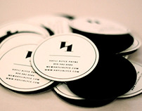 Pocket Sized Business cards & A New Logo