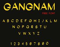 Gangnam Free Font