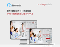 Elnooronline Template ( International Agency 2 )
