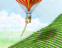 CLIMBING... How I Designed & Illustrated the Wine Label