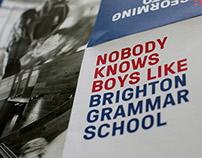 Brighton Grammar School Strategy Poster