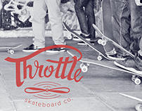 Throttle Skateboard Brand