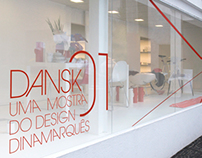 Dansk 01 Exhibition and Poster