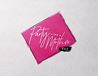 Party Like A Mother | Event Logo + Branding
