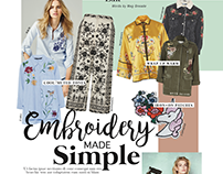 Embroidery Made Simple
