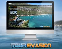 Tour Evasion - Web Design