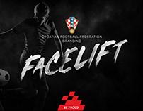 Croatian Football Federation Branding Facelift