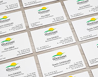 Le Gouessant business cards