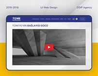 TÇMB UI Web Design