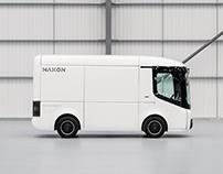 NAXON - logo design for the electric vehicle design