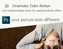 20 Cinematic Color Actions