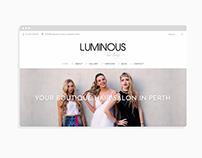 Luminous Hair Lounge Website
