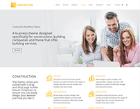 About Us Page - Construction WordPress Theme