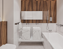Bathroom design / Sochi