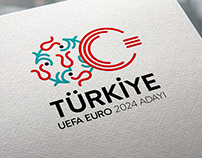 "Logo for ""Turkey Candidate for UEFA EURO 2024"""