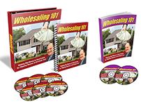 Wholesaling 101 Training Course Packaging