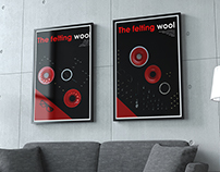 A series of posters about felting wool