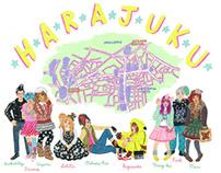Harajuku Map