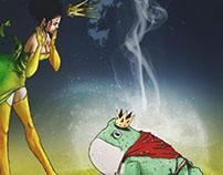 princesse oxy et crapaud howard
