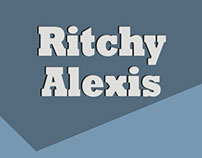Ritchy Alexis Debut Mixtape/Album Art