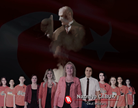Erkan Koleji İçin Hazıradığım 29 Ekim Videosu