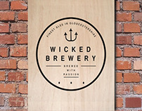 Wicked Brewery Re-Brand Concept