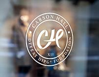 Carson Hall Foundation   Branding