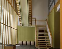 Interiors . 3D visualizations