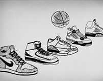 "MICHAEL JORDAN ""I WANNA BE LIKE MIKE"" KINETIC TYPE"