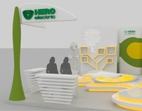 Hero Electric Exhibition Stall