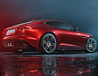Jaguar F-Type – CGI